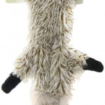 Ethical Mini Skinneeez Raccoon 14-Inch Stuffingless Dog Toy
