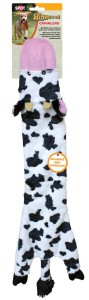 Ethical Pets Skinneeez Crinklers Cow Dog Toy Large
