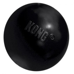 KONG Exreme Rubber Ball Black