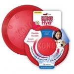 KONG Rubber Flyer Red Large