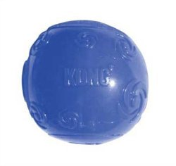 KONG Squeezz Ball Medium Blue