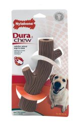 Nylabone Dura Chew Hollow Stick Toy Bacon Flavored