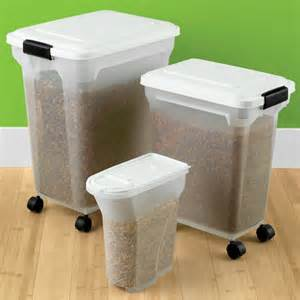 Dog Food Storage Containers On Wheels