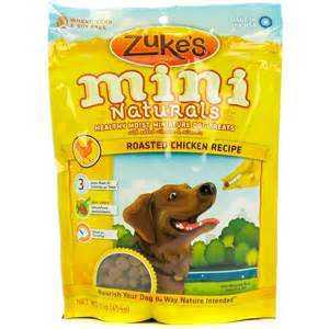 Zuke's Mini Naturals Dog Treats Roasted Chicken Recipe