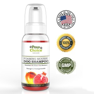 Paw Choice Dry Dog Shampoo With Seals