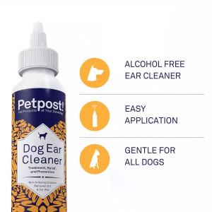 Petpost Natural Dog Ear Cleaner