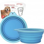 Prima Pet Collapsible Silicone Food & Water Travel Bowl