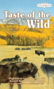Taste of the Wild Dry Dog Food Prairie Formula with Roasted Bison & Roasted Venison Grain-Free
