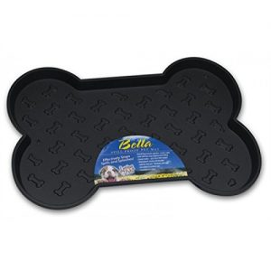 Loving Pets Bella Spill Proof Black Mat Large