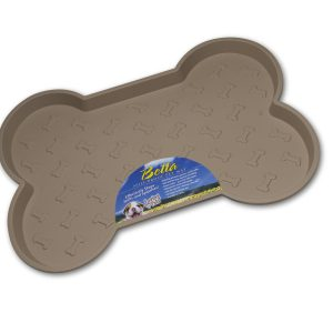 Loving Pets Bella Spill-Proof Mat Tan Small