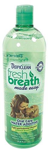 Tropiclean Fresh Breath Plaque Remover Pet Water Additive 33.8oz